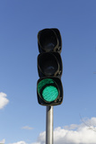 Close up of Traffic Light Photographic Print by  Picavet