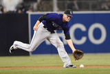 Sep 22, 2014, Colorado Rockies vs San Diego Padres - Josh Rutledge Photographic Print by Denis Poroy