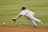 Sep 23, 2014, Colorado Rockies vs San Diego Padres - DJ LeMahieu Photographic Print by Denis Poroy