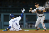 San Francisco Giants V Los Angeles Dodgers Photographic Print by Jeff Gross