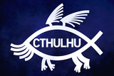 Cthulhu Fish Posters