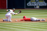 Sep 24, 2014, Los Angeles Angels of Anaheim vs Oakland Athletics - Mike Trout Photographic Print by Ezra Shaw