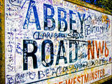 Abbey Road Road Sign, London Photographic Print by Doug Armand