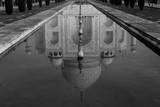 Reflection of Taj Mahal in Pool Photographic Print by Inti St. Clair