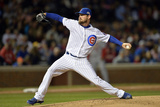 Sep 22, 2014, St. Louis Cardinals vs Chicago Cubs - Travis Wood Photographic Print by Brian Kersey