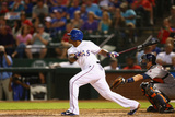 Sep 24, 2014, Houston Astros vs Texas Rangers - Adrian Beltre Photographic Print by Ronald Martinez