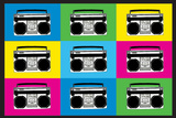Boombox Stereos 2 Pop Photo