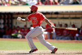 Sep 24, 2014, Los Angeles Angels of Anaheim vs Oakland Athletics - Howie Kendrick Photographic Print by Ezra Shaw