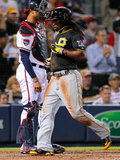 Sep 23, 2014, Pittsburgh Pirates vs Atlanta Braves - Andrew McCutchen Photographic Print by Kevin C. Cox