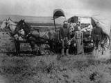 Pioneer Family Photographic Print by  FPG