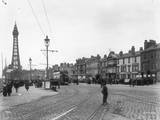 Blackpool Tramlines Photographic Print by Hulton Archive