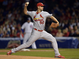 Sep 22, 2014, St. Louis Cardinals vs Chicago Cubs - Adam Wainwright Photographic Print by Brian Kersey