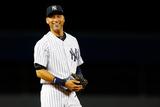 Sep 22, 2014, Baltimore Orioles vs New York Yankees - Derek Jeter Photographic Print by Mike Stobe