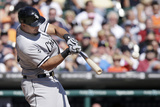 Sep 24, 2014, Chicago White Sox vs Detroit Tigers - Jose Abreu Photographic Print by Duane Burleson