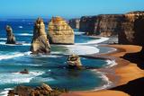 Apostles on Great Ocean Road, Melbourne Fotografisk tryk af Tristan Brown
