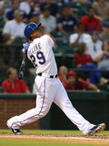 Sep 23, 2014, Houston Astros vs Texas Rangers - Adrian Beltre Photographic Print by Sarah Glenn