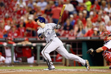 Sep 24, 2014, Milwaukee Brewers vs Cincinnati Reds - Ryan Braun Photographic Print by Andy Lyons