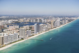 Usa, Florida, Miami Cityscape as Seen from Air Photographic Print by  Fotog