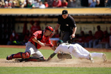 Sep 24, 2014, Los Angeles Angels of Anaheim vs Oakland Athletics - Jed Lowrie Photographic Print by Ezra Shaw