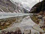 Lake Louise Melting Photographic Print by  DanEvansPhotography