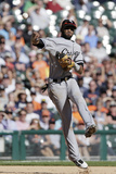 Sep 24, 2014, Chicago White Sox vs Detroit Tigers - Alexei Ramirez Photographic Print by Duane Burleson