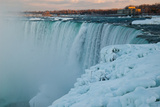 Wintertime at Niagara Falls Photographic Print by Megan Ahrens