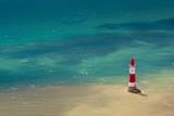 Beachy Head Lighthouse Fotografisk tryk af DagDurrichPhotography