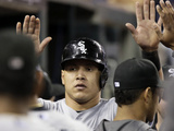 Sep 23, 2014, Chicago White Sox vs Detroit Tigers - Avisail Garcia Photographic Print by Duane Burleson