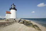 Usa, Massachusetts, Nantucket Island, View of Brant Point Lighthouse Stampa fotografica di Chris Hackett