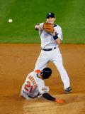 Sep 23, 2014, Baltimore Orioles vs New York Yankees - Stephen Drew Photographic Print by Jim McIsaac
