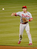 Sep 23, 2014, Philadelphia Phillies vs Miami Marlins - Chase Utley Photographic Print by Rob Foldy