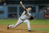 Sep 24, 2014, San Francisco Giants vs Los Angeles Dodgers - Tim Hudson Photographic Print by Jeff Gross