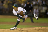 Sep 23, 2014, Los Angeles Angels of Anaheim vs Oakland Athletics - Sonny Gray Photographic Print by Jason O. Watson