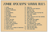 Zombie Apocalypse Rules Photo