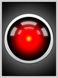 Hal 9000 Camera Eye Screen Posters