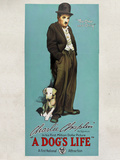 A Dog's Life Movie Charlie Chaplin Tramp Prints