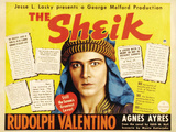 The Sheik Movie Rudolph Valentino Agnes Ayres Adolphe Menjou Prints