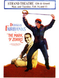 The Mark of Zorro Movie Douglas Fairbanks Noah Beery Posters