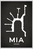 MIA Miami Airport Posters