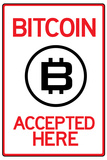 Bitcoin Accepted Here Prints