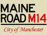 Maine Road M14 Manchester Road Prints