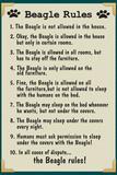 Beagle House Rules Print