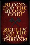 Sangue per il dio del sangue, in inglese Stampe