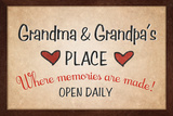 Grandma and Grandpa's Place Posters