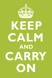 Keep Calm and Carry On Kiwi Posters