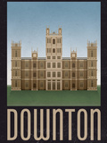 Downton Retro Travel Prints