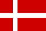 Denmark National Flag Prints