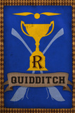 Quidditch Champions House Trophy Blue Plakater