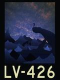 LV-426 Retro Travel Poster Plakater