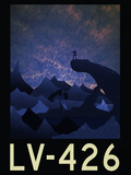 LV-426 Retro Travel Posters
